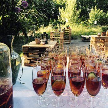 Lej festlokale med lækre velkomstdrinks